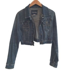 Maurices Cropped Jean Jacket
